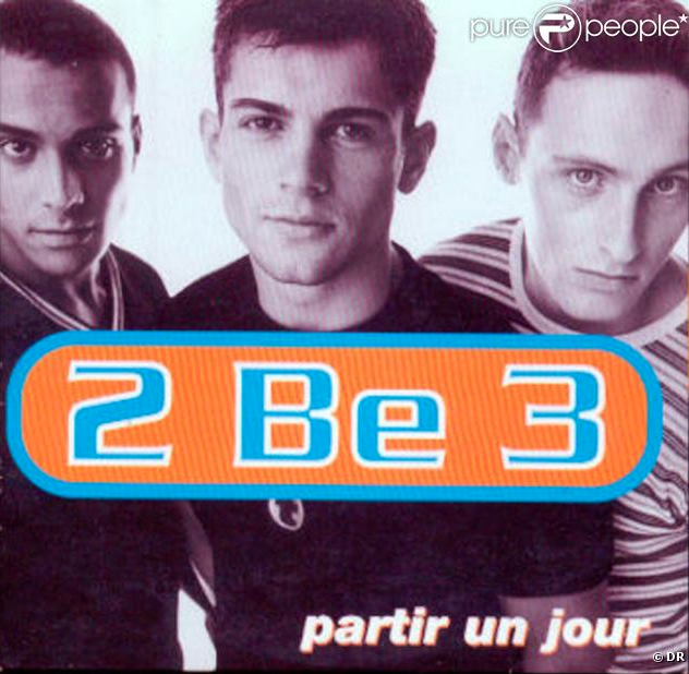 2Be3 Partir Un Jour cover - Pure People.com