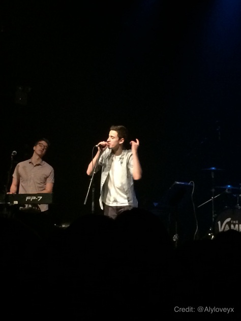 AJR at Gramercy Theater NYC 19Feb14  Credit: @Alyloveyx