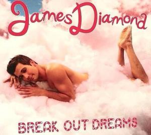 """James Diamond """"break out dreams"""" solo album cover"""