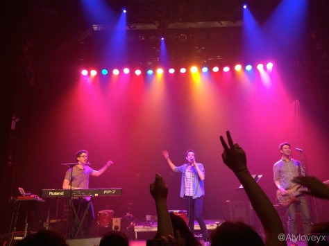 AJR Gramercy Theatre 15March2014 photo by Alyloveyx 2