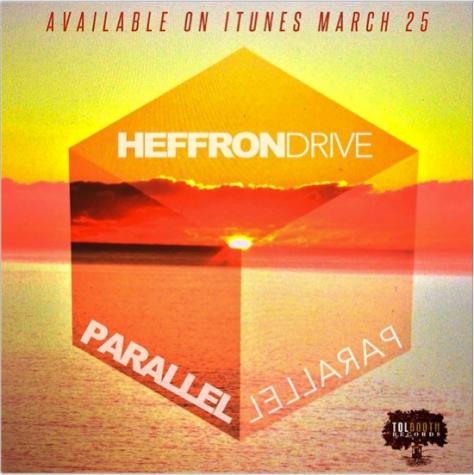 "Heffron Drive single - ""Parallel"" art"