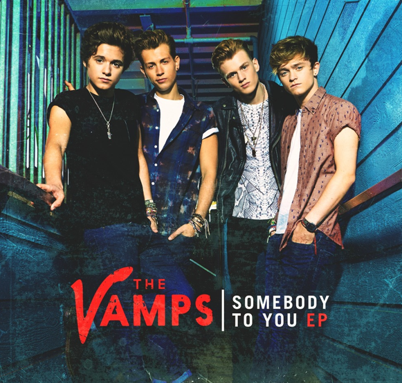The Vamps somebody to you EP art