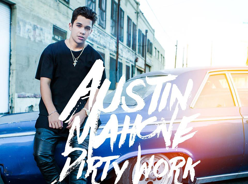austin mahone dirty work art