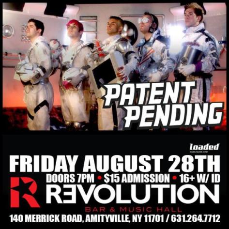 Patent Pending aug28 long island show