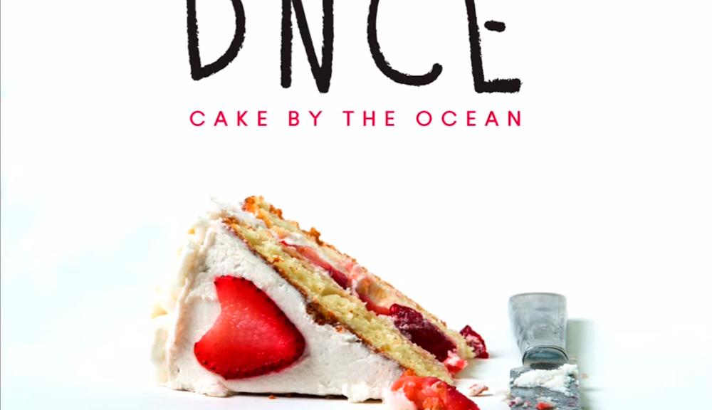 Cake Near Ocean