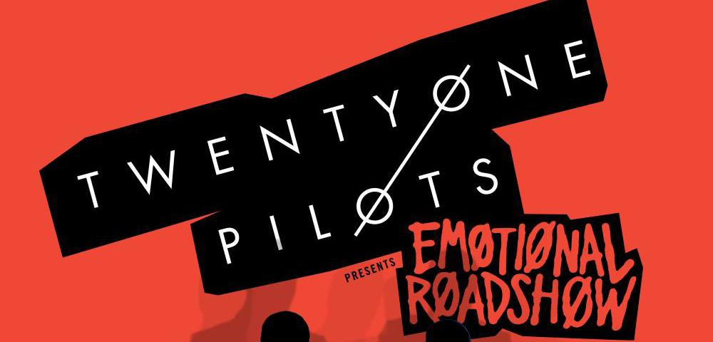 twenty one pilots emotional roadshow header