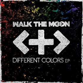 walk the moon different colors EP art