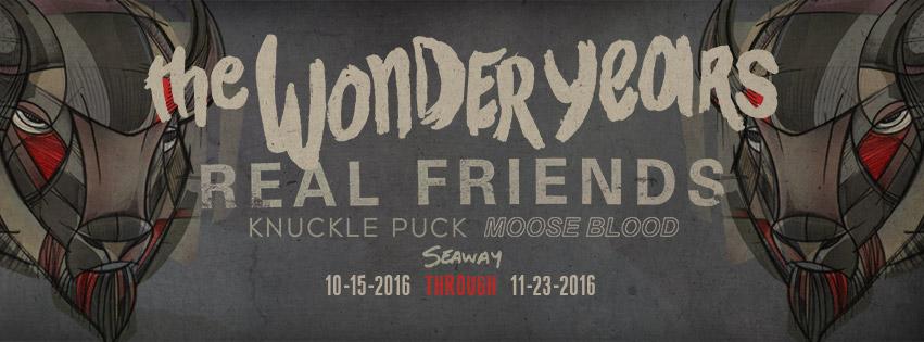the wonder years moose blood tour 2016