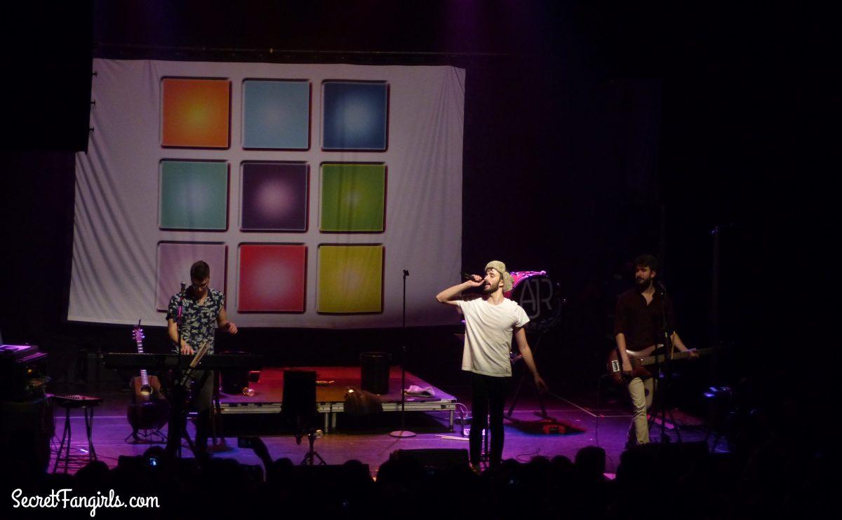 Ajr secretfangirls ajr music on tour show review kristyandbryce Choice Image